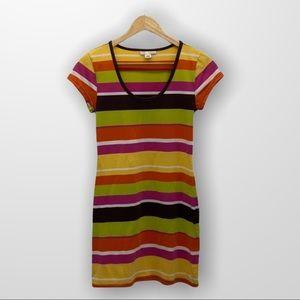 DEREK HEART T Shirt Dress Size Large